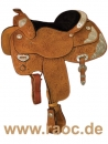 Silver Show Saddle